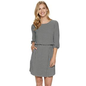 Petite Apt. 9® Print Blouson Dress