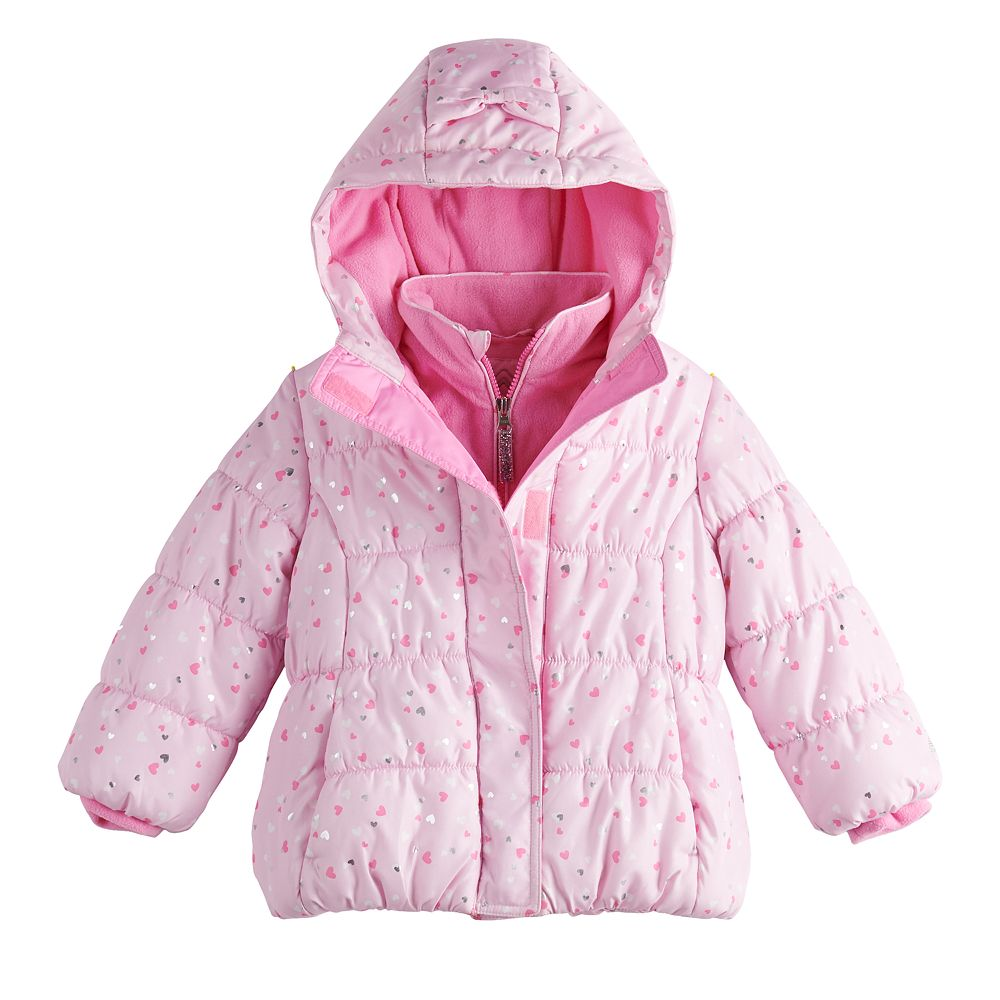 Toddler Girl ZeroXposur Hooded Puffer Jacket