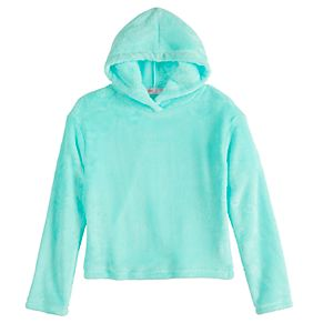 Girls' 7-16 SO Woobie Hoodie Top