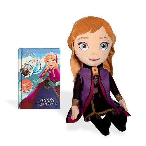 Kohl's Cares Disney's Frozen 2 Anna Plush and Book Bundle