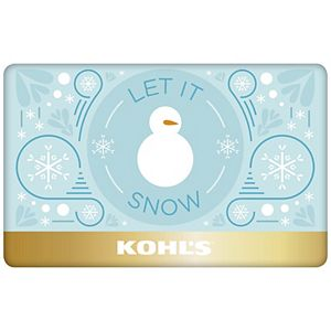 Let It Snow Gift Card