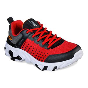 Skechers Hot Lights Adventurer Boys' Light Up Trail Running
