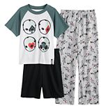 Boys 8-16 Fortnite High Stakes Top, Shorts & Pants Pajama Set