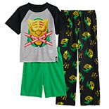 Boys 8-16 Fortnite Master Top, Shorts & Pants Pajama Set
