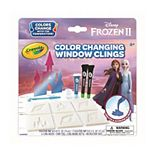Disney's Frozen 2 Color Changing Custom Window Clings by Crayola
