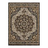 Scott Living Elegant Medallion Area Rug