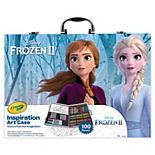 Disney's Frozen 2 Inspiration Art Case by Crayola - 100 Art & Coloring Supplies