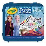 Disney's Frozen 2 Create & Color Glitter Art Set by Crayola