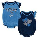 Baby Girl Tennessee Titans Celebration Bodysuit Set