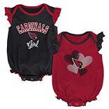 Baby Girl Arizona Cardinals Celebration Bodysuit Set