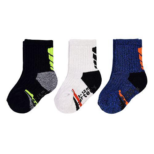 Boys 3M-4T Carter's 3pk Marled Crew Socks