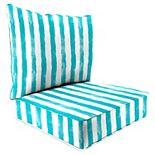 Jordan Manufacturing 2-piece Deep Seat Chair Cushion