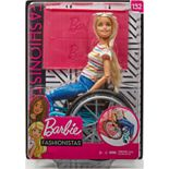 Barbie Fashionistas® Doll #132 Blonde with Rolling Wheelchair and Ramp