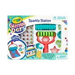 Crayola Glitter Dots Sparkle Station Craft Kit