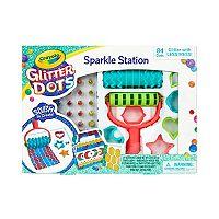 Crayola Glitter Dots Sparkle Station Craft Kit