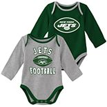 Baby Boy New York Jets Trophy Bodysuit Set