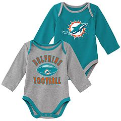 new arrivals d76b0 82753 NFL Miami Dolphins Baby Clothing | Kohl's
