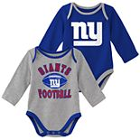 Baby Boy New York Giants Trophy Bodysuit Set