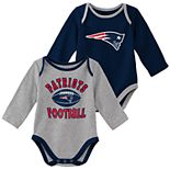 Baby Boy New England Patriots Trophy Bodysuit Set