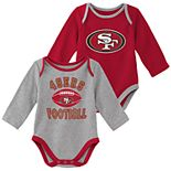 Baby Boy San Francisco 49ers Trophy Bodysuit Set