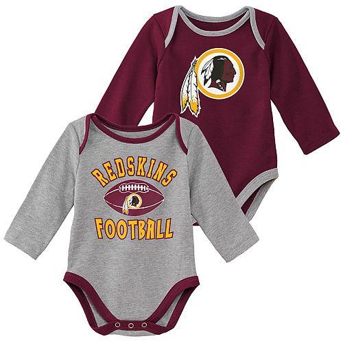 low priced 72b69 ff510 Baby Boy Washington Redskins Trophy Bodysuit Set