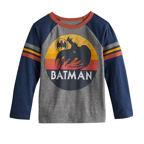 Boys 4-12 SONOMA Goods for Life™ DC Comics Batman Raglan Graphic Tee