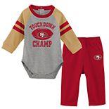 Baby Boy San Francisco 49ers Touchdown Bodysuit & Pants Set