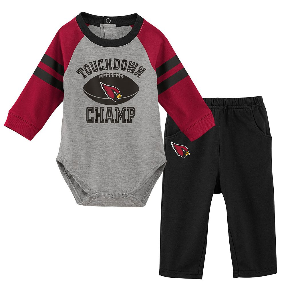 Baby Boy Arizona Cardinals Touchdown Bodysuit & Pants Set