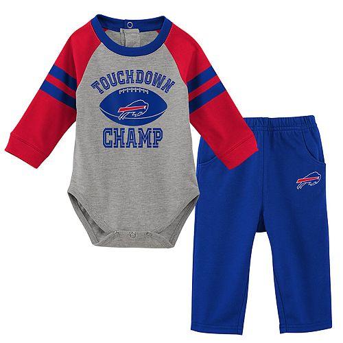 Baby Boy Buffalo Bills Touchdown Bodysuit & Pants Set