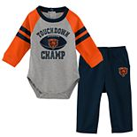 Baby Boy Chicago Bears Touchdown Bodysuit & Pants Set