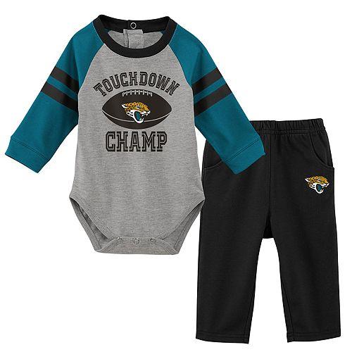 Baby Boy Jacksonville Jaguars Touchdown Bodysuit & Pants Set