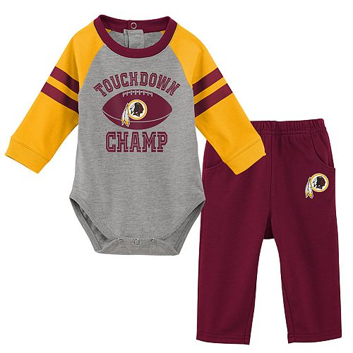 Baby Boy Washington Redskins Touchdown Bodysuit & Pants Set