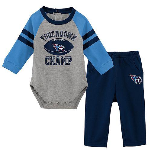 Baby Boy Tennessee Titans Touchdown Bodysuit & Pants Set
