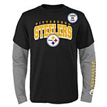 Boys 8-20 Pittsburgh Steelers Tee