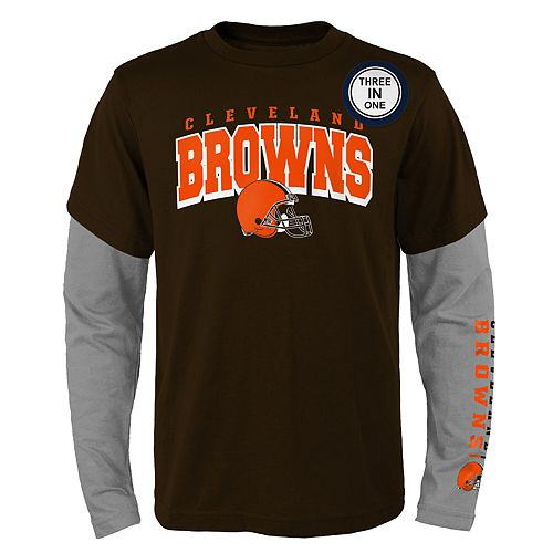 Boys 8-20 Cleveland Browns Tee