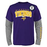 Boys 8-20 Minnesota Vikings Tee