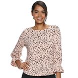 Women's ELLE? 3/4 Bell Sleeve Top