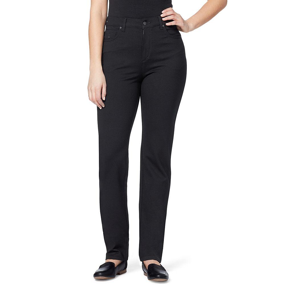 Petite Gloria Vanderbilt Amanda Ponte Tapered Jeans