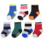 Baby / Toddler Boy OshKosh B'gosh® 7-Pack Striped Socks