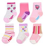 Baby / Toddler Girl OshKosh B'gosh® 6-Pack Floral Socks