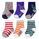 Baby / Toddler Boy OshKosh B'gosh® 6-Pack Dino Socks