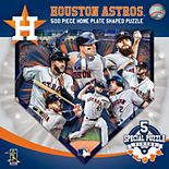 Houston Astros Home Plate Shaped 500-Piece Puzzle