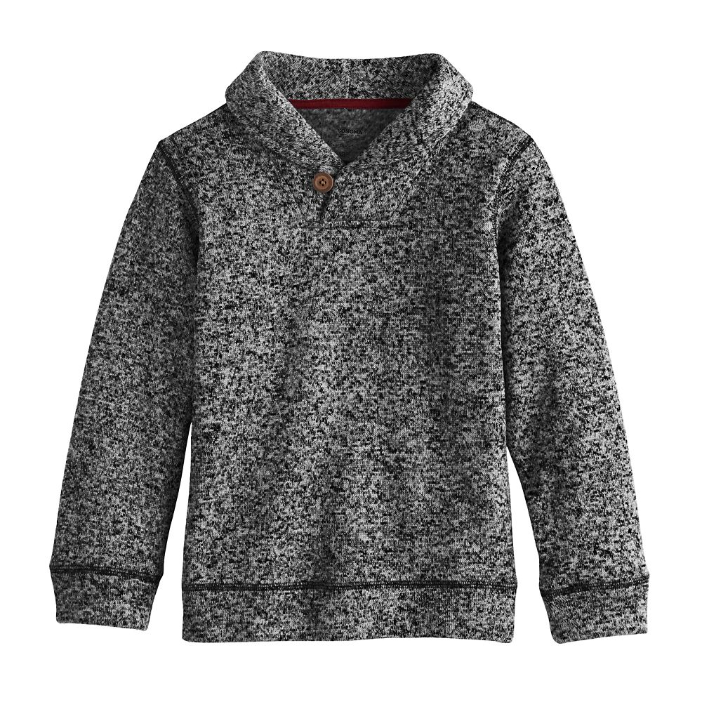 Boys 4-12 SONOMA Goods for Life® Shawl Neck Pullover