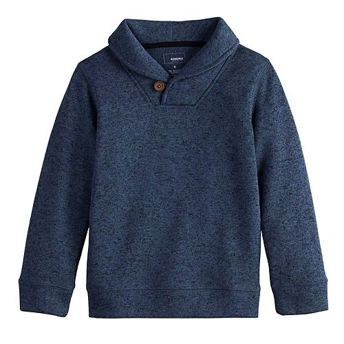 Boys 4-12 SONOMA Goods for Life™ Shawl Neck Pullover