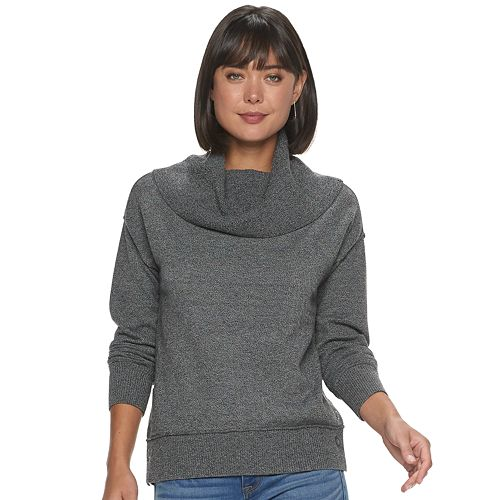 Women's Apt. 9® Grommet Cowlneck Sweater