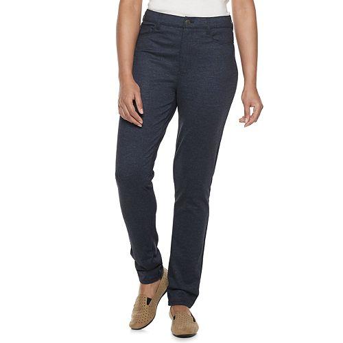 Women's Croft & Barrow® Straight-Leg Ponte Pants