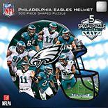 Philadelphia Eagles 500-Piece Helmet Puzzle