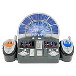 Disney's Star Wars Millennium Falcon Command Center with Walkie Talkies