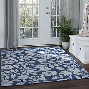 KHL Rugs Neveah Floral Indoor Outdoor Rug