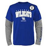 Boys 8-20 Kentucky Wildcats Combo Tee Set